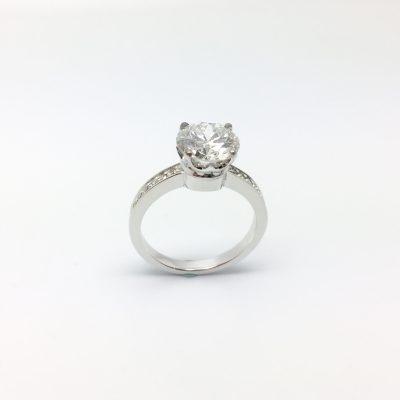 bague OR 750 milliemes et diamant - Bijouterie Ferre au Bouscat