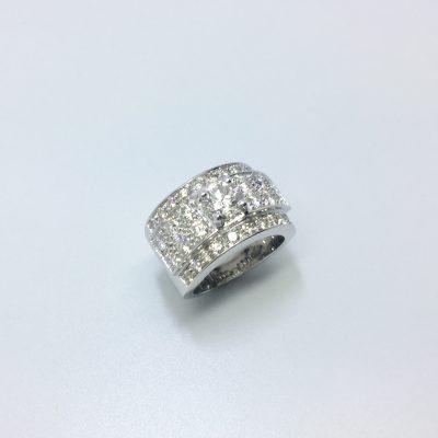 bague OR 750 milliemes et diamants - Bijouterie Ferre au Bouscat