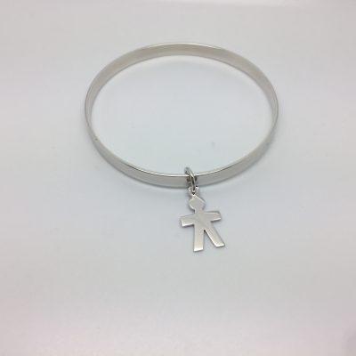 bracelet avec pampille OR 750 milliemes - Bijouterie Ferre au Bouscat